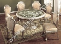 silver dining set, dining table, silver Dining Sets ...