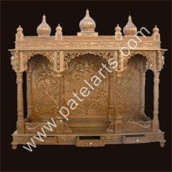 Best Sofa Set Designs In India Corner Without Back Wooden Temples, Carved Mandir ...