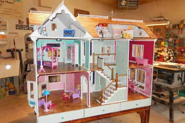 Free Doll House Plans Childs Toy Design