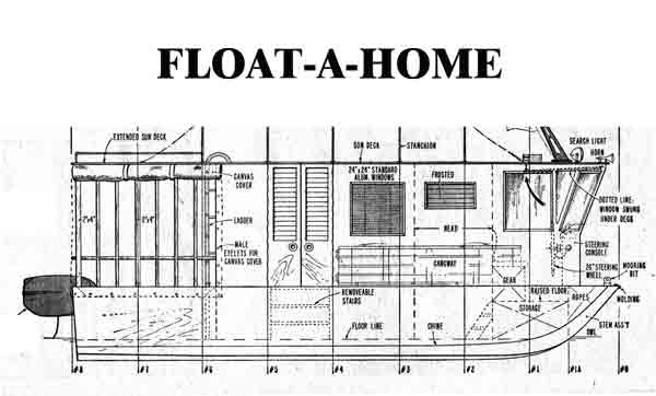 House boat plans is my next woodworking project.