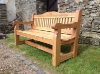 Memorial Benches | The Wooden Workshop | Oakford, Devon