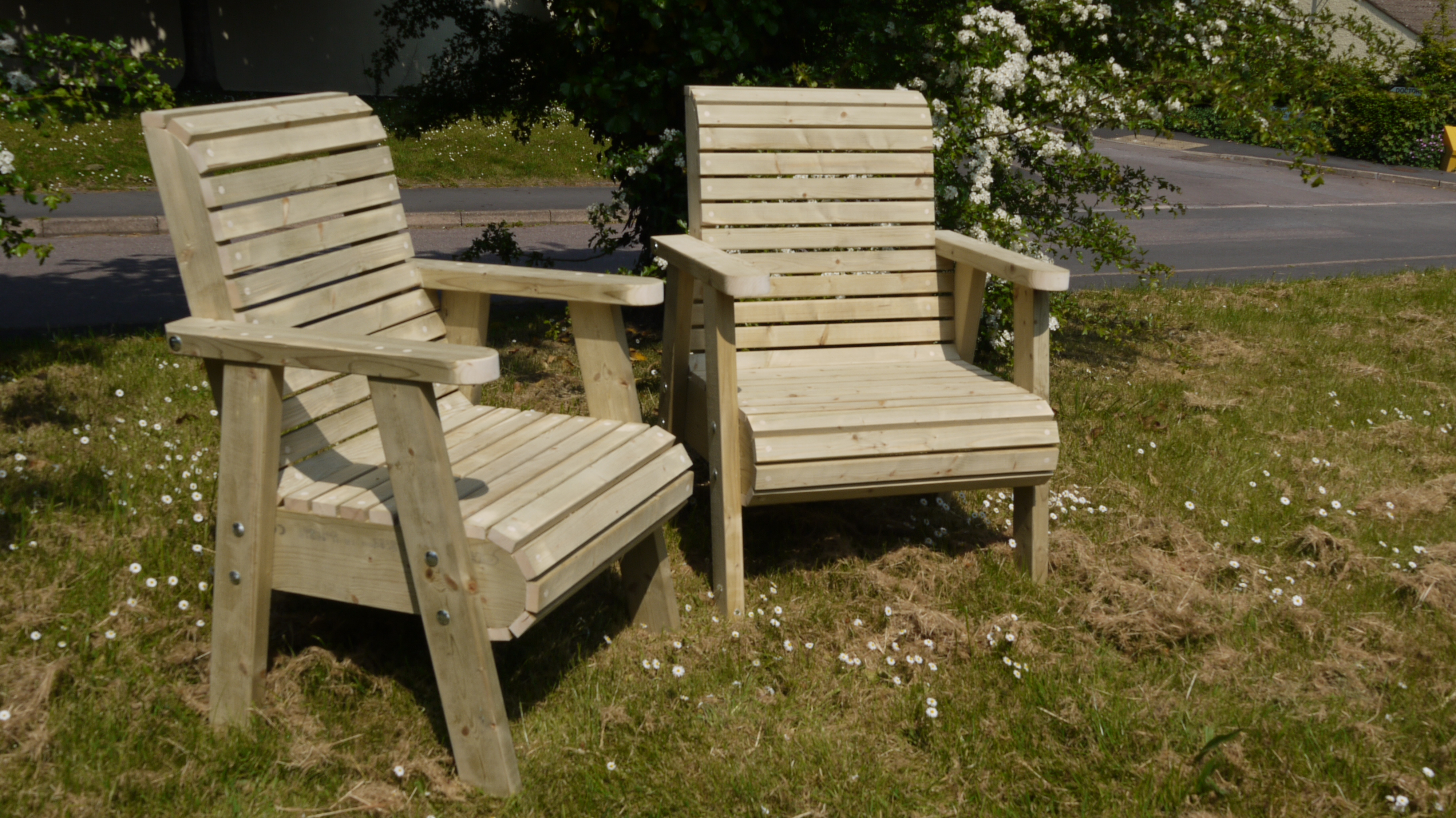 wooden garden chairs uk chair covers hire nottingham chunky the workshop oakford devon