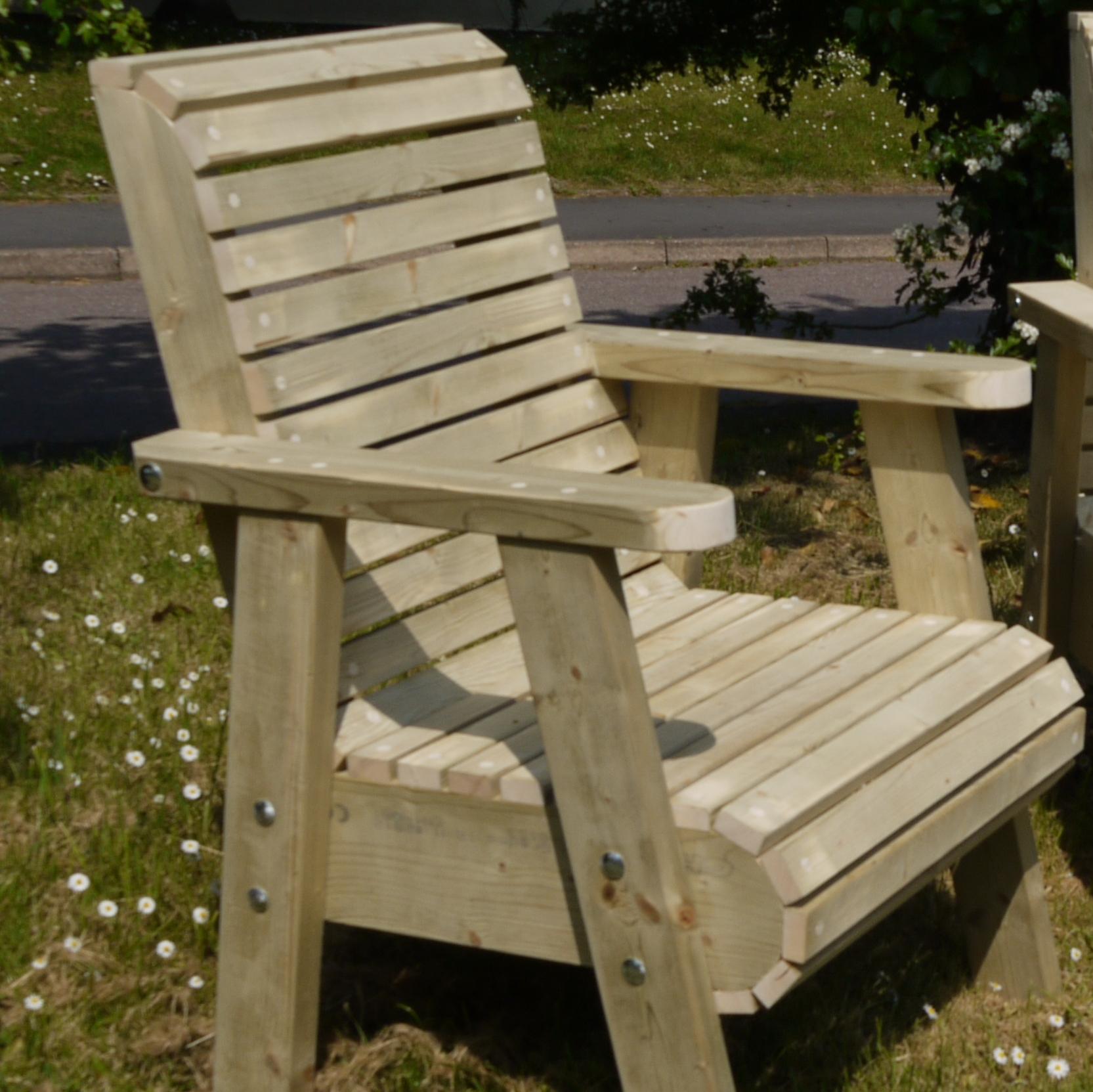 chair design garden outdoor replacement cushions roll top the wooden workshop oakford devon