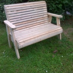 Wooden Garden Chairs Uk Office Ergonomic Mesh Roll Top Bench The Workshop Oakford Devon