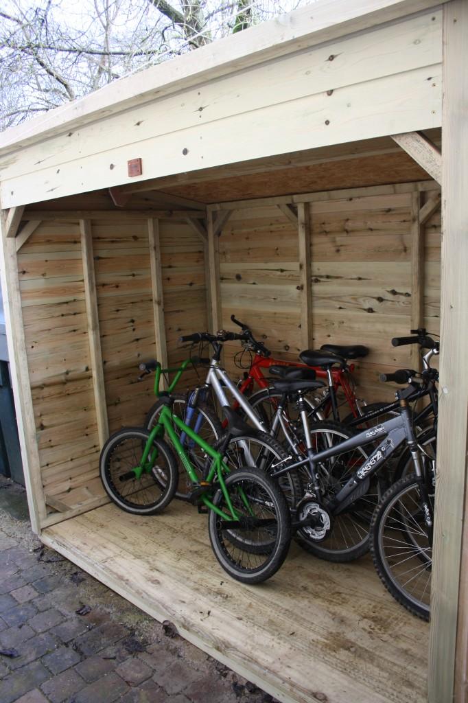Bike Shed The Wooden Workshop Oakford Devon