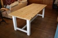 Farmhouse Style Table | The Wooden Workshop | Oakford, Devon