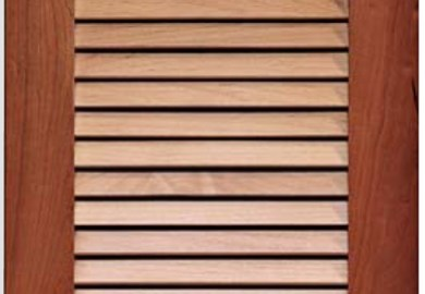 Kitchen Cabinet Doors Louvered