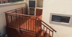 Sundecks wooden balustrades for your stairs