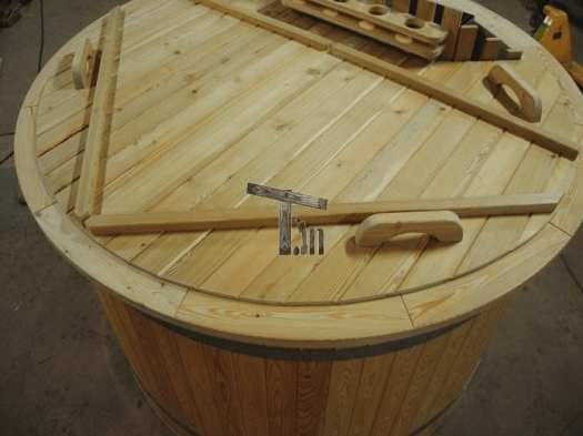 Wooden Cover For Hot Tub 2