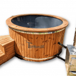 Fiberglass Outdoor Hot Tub With External Heater (33)