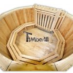 Wood burning hot tub deluxe model main