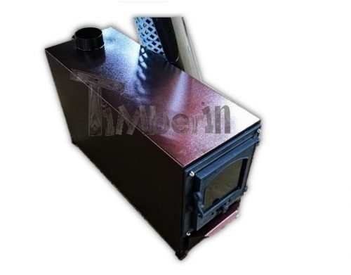 Exterior Wood Fired Heater For Hot Tubs