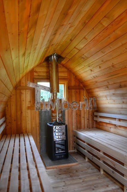 Outdoor Garden Sauna Igloo Design Timberin