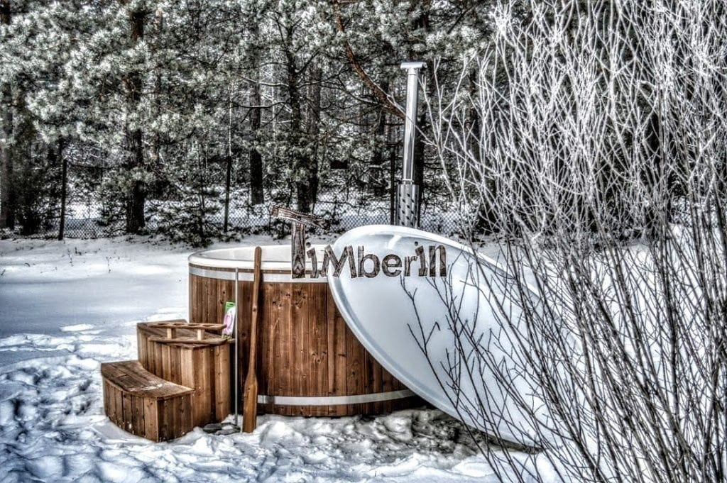 Wood-fired-hot-tubs-winter Finished projects