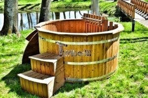 80 best wood fired hot tubs images on