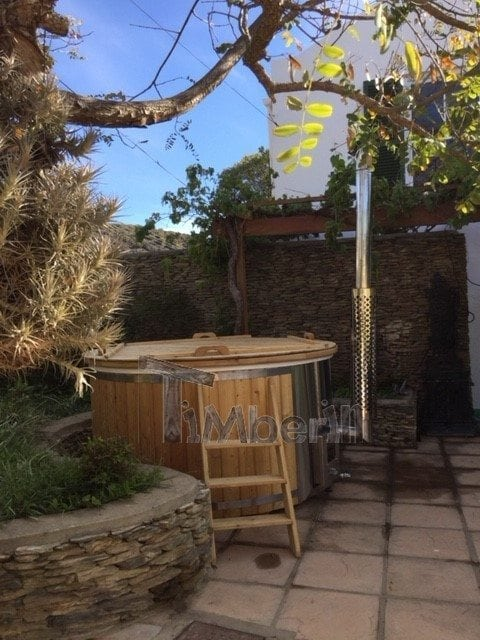 Wood Fired Hot Tub With Integrated Heater, Wellness Deluxe Christian, Barrydale, South Africa (1)