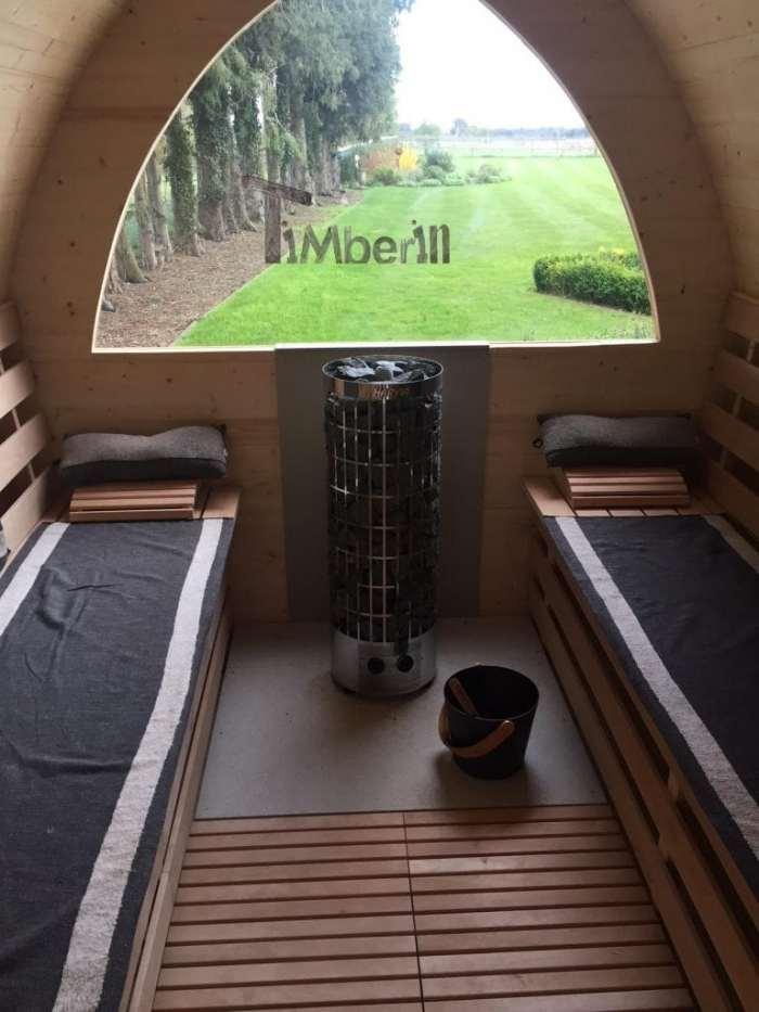 Outdoor-garden-igloo-sauna-Darren-Worlington-U.K.-3 Outdoor garden igloo sauna, Darren, Worlington, U.K.