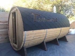 Outdoor-Barrel-Round-Sauna-Heather-Chelmsford-Essex-U-2 Outdoor Barrel Round Sauna, Heather, Chelmsford, Essex, U.K