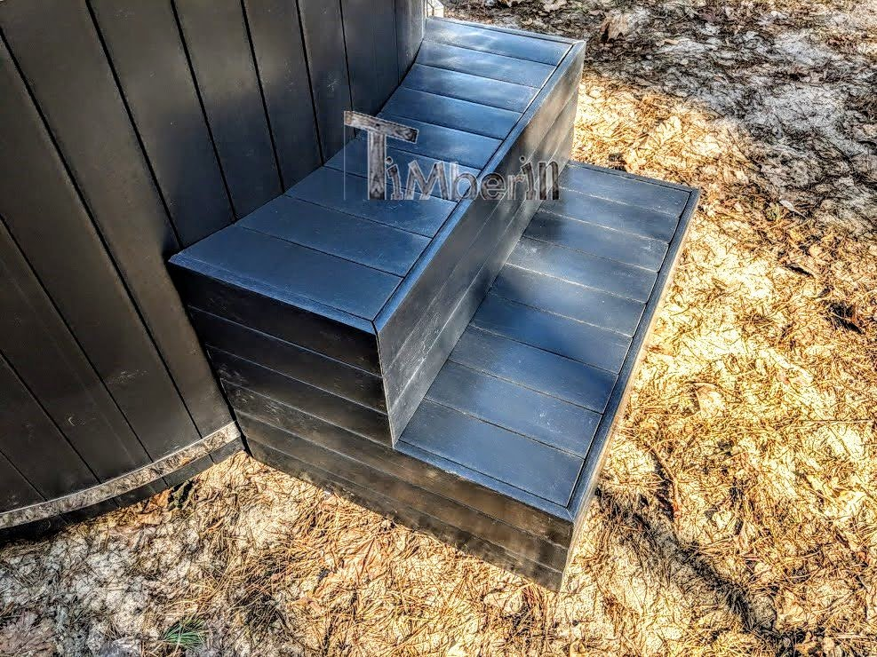 Smart Pellet Fired Hot Tub No Maintenance Required
