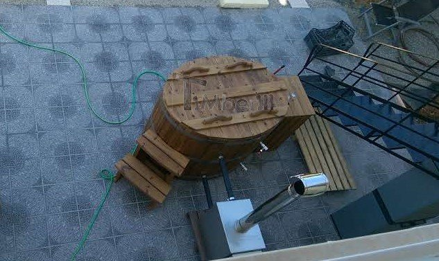 Wooden-hot-tub-for-2-persons-Andy-Sissi-Crete-1 Wooden hot tub for 2 persons, Andy,  Sissi, Crete