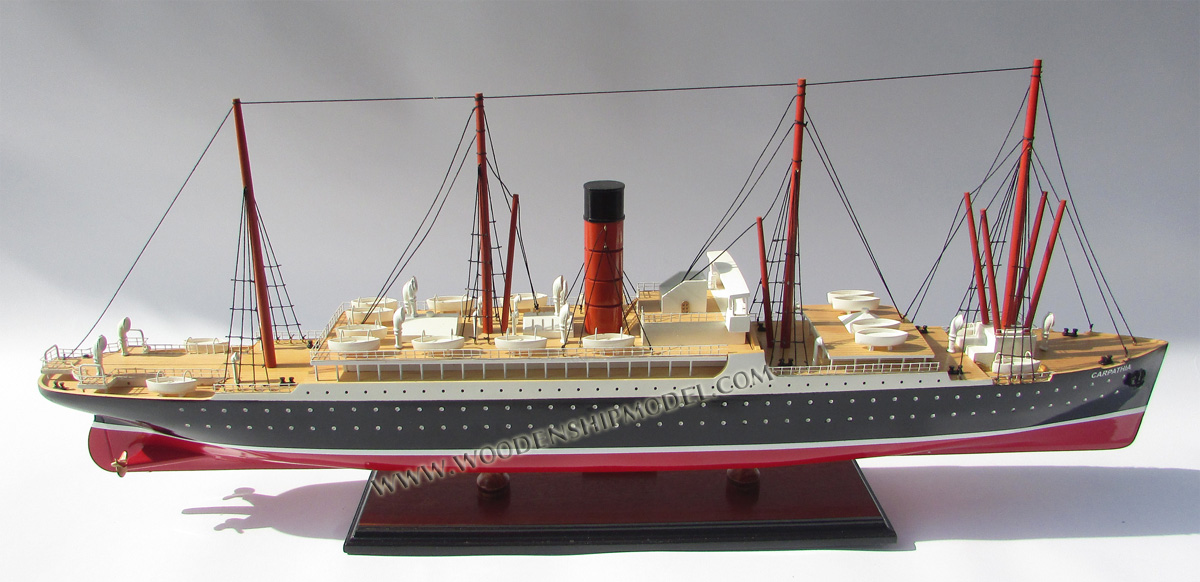 MODEL BOAT RMS CARPATHIA
