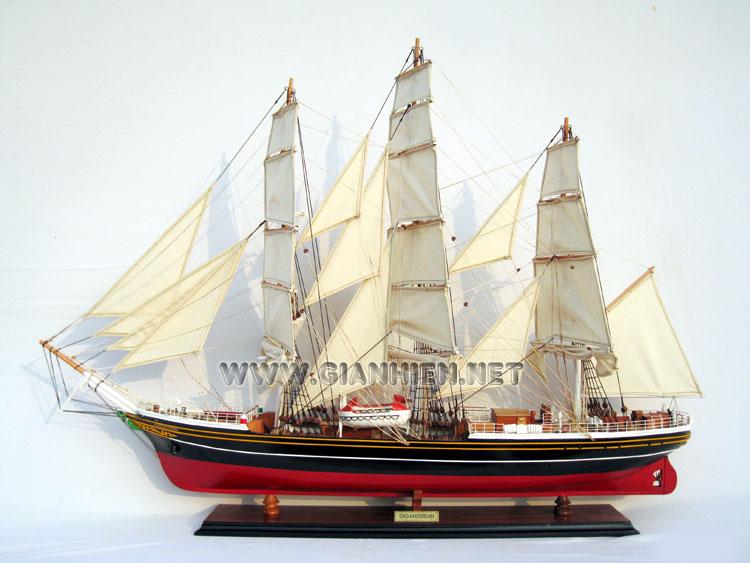 MODEL CLIPPER SHIP STAD AMSTERDAM
