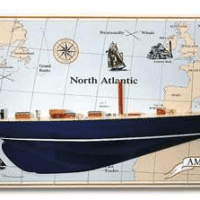 Amati Endeavour J Class Half Hull