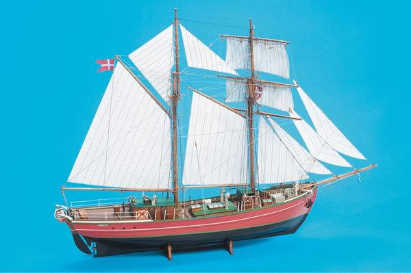 Billing Boats Lilla Dan Wooden Ship Kit Woodenmodelshipkit