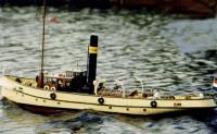 Deans Marine Christiaan Brunings Wood Model Kit R/C