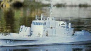 Dumas USS Crocket Ship
