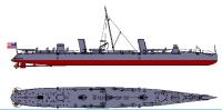 Flagsphip Models 1890s Torpedo Boat USS Winslow