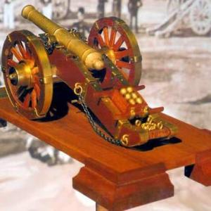 Mantua Napoleonic Cannon