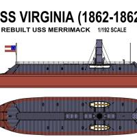 Flagship Models CSS Virginia