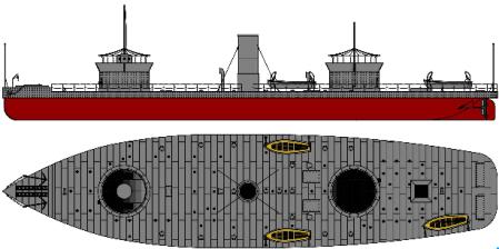 Flagship Models USS Onondaga