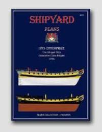 HMS Enterprize Modellar Plans 1:72 - Shipyard PM001