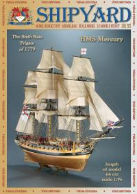HMS Mercury 1:96 - Shipyard MK006 - Paper Model Kit