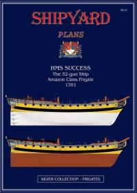 HMS Success Modellar Plans 1:72 - Shipyard PM003
