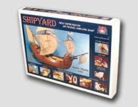 Santa Maria 1492 1:72 - Shipyard ZL003 - Laser Cardboard Kit