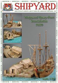 Quay Port, Stockholm 1620 1:96 - Shipyard ML008 - Laser Cut Model