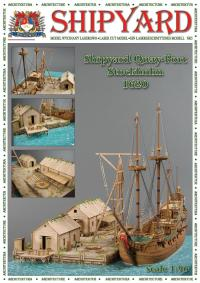 Quay Port, Stockholm 1620 1:96 - Shipyard ML008 - Laser Cut Model