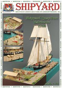 Quay Port, Baltimore 1780 - Shipyard ML009 - Laser Cut Model