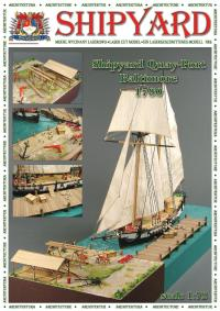 Quay Port, Baltimore 1780 - Shipyard ML009 - Laser Cut Model
