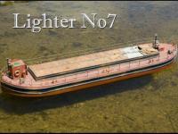 Mount Fleet Models Lighter No 7 Barge