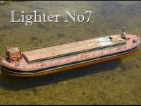 Mount Fleet Models Lighter No 7 Barge