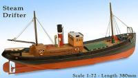 Model Slipway Steam Drifter Boat- RC Ready