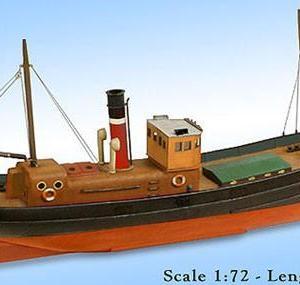 Model Slipway Steam Drifter