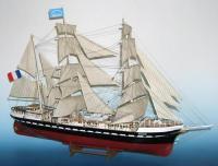 Soclaine Le Belem, Three-Masted Bark, French Training Ship 1896