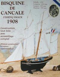Soclaine Le Petrel Cancale Fishing Smack 1908