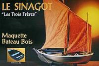Soclaine Les Trois Freres Morbihan Fishing Boat 1943