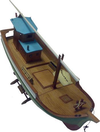 Turk Model Black Sea Fishing Boat
